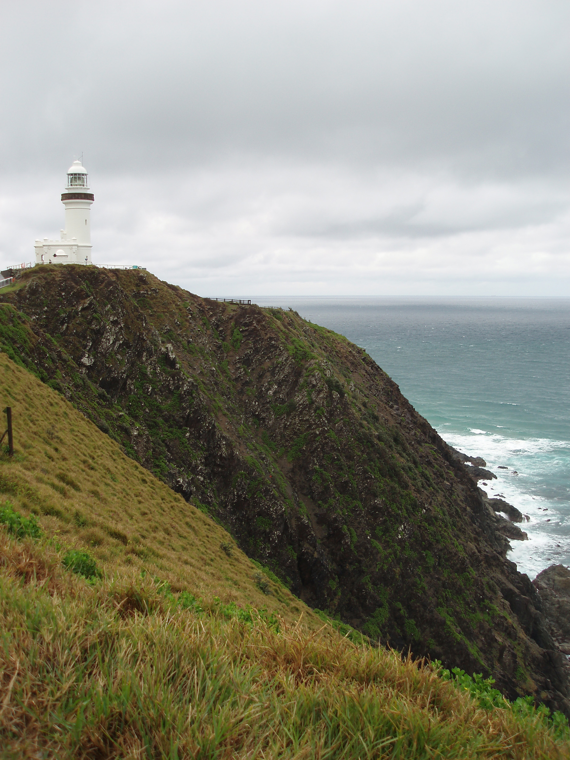 byron bay light house stood on top of cape byron