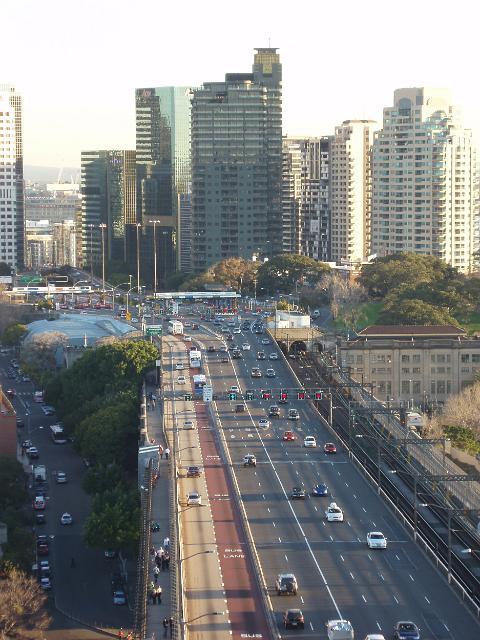 Photo Of Sydney Cbd Traffic Free Australian Stock Images