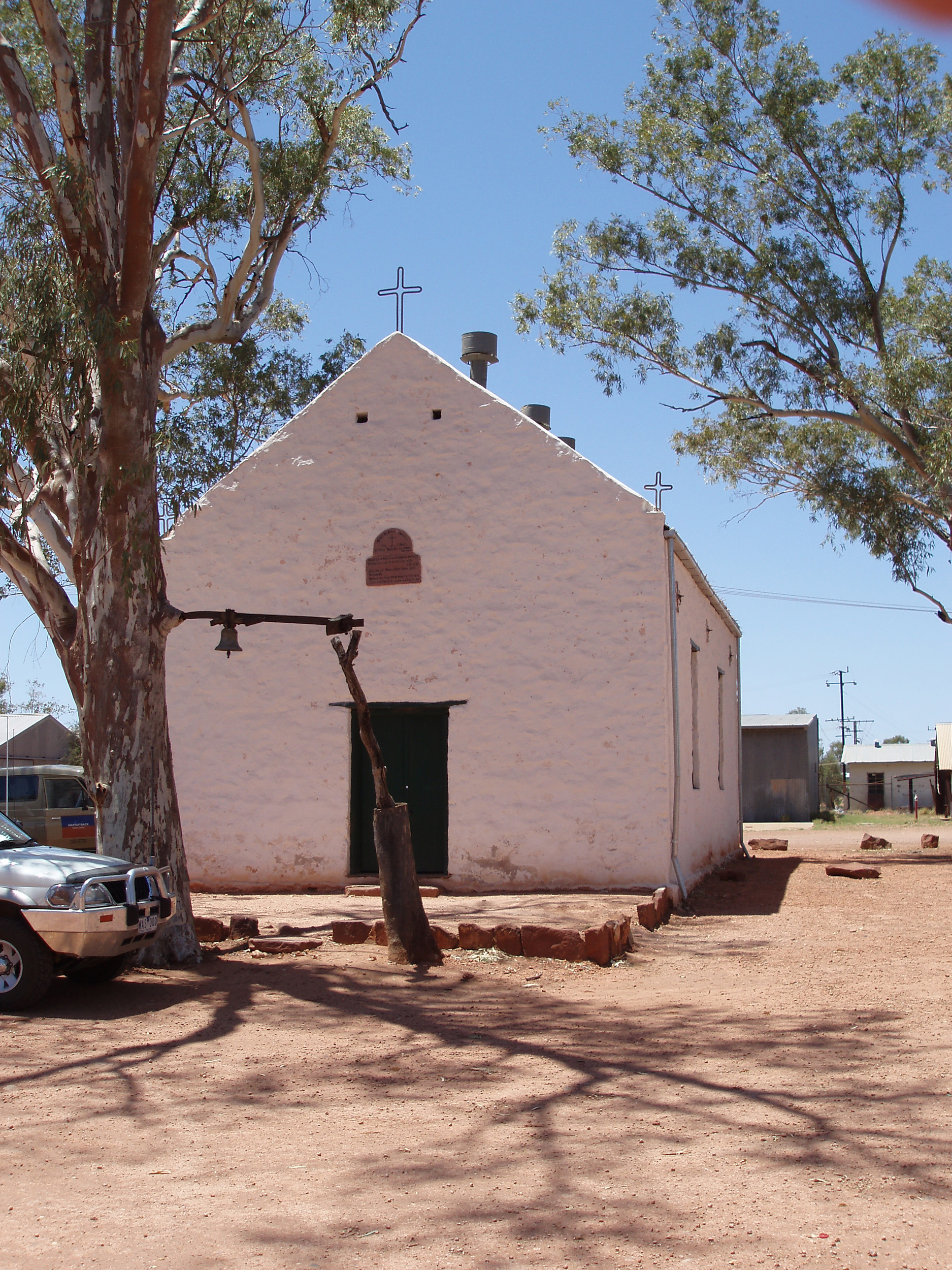 Hermannsburg Lutheran church, Ntaria, NT