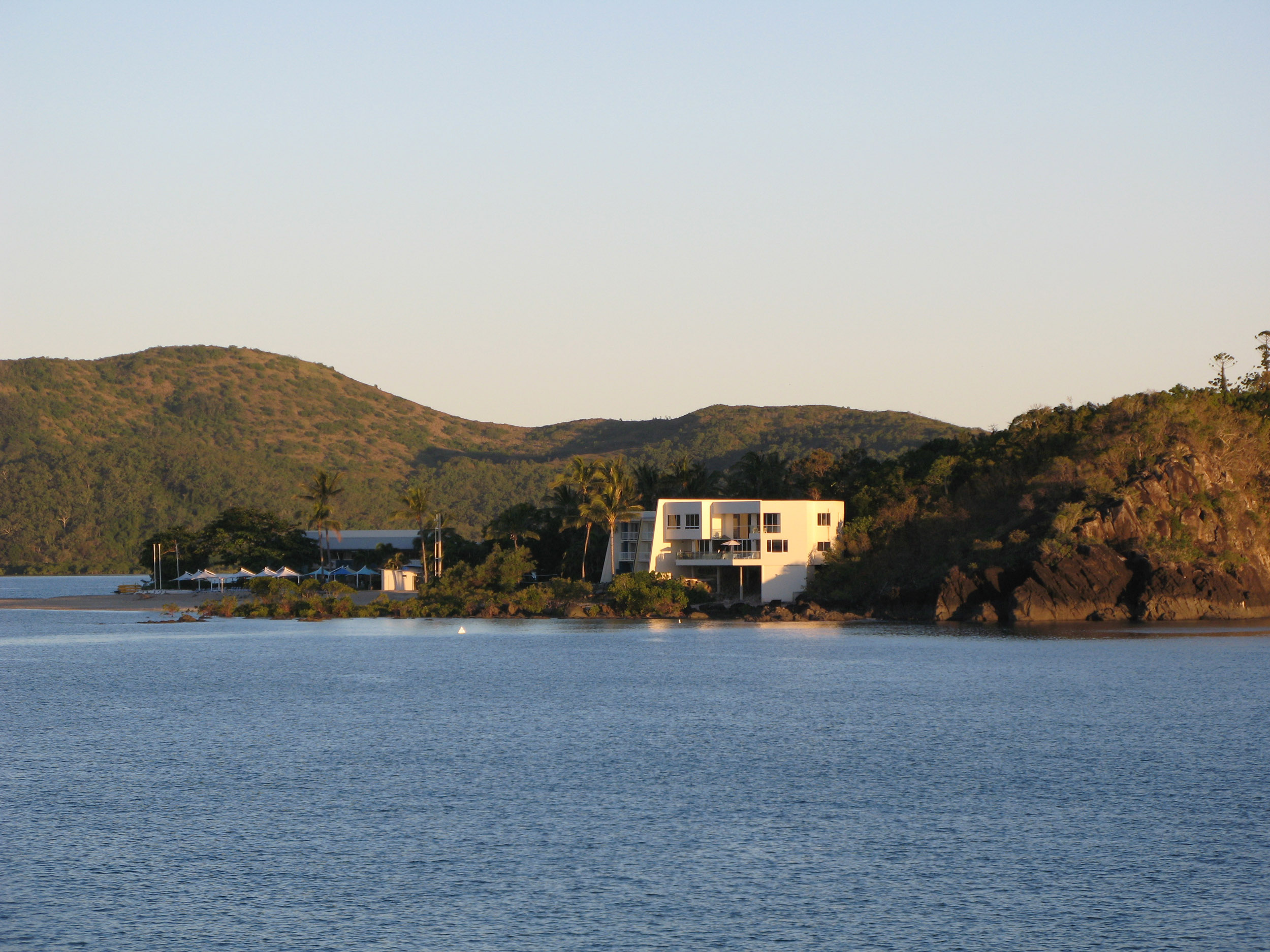 one of the resort hotels on daydream island, whitsundays queensland