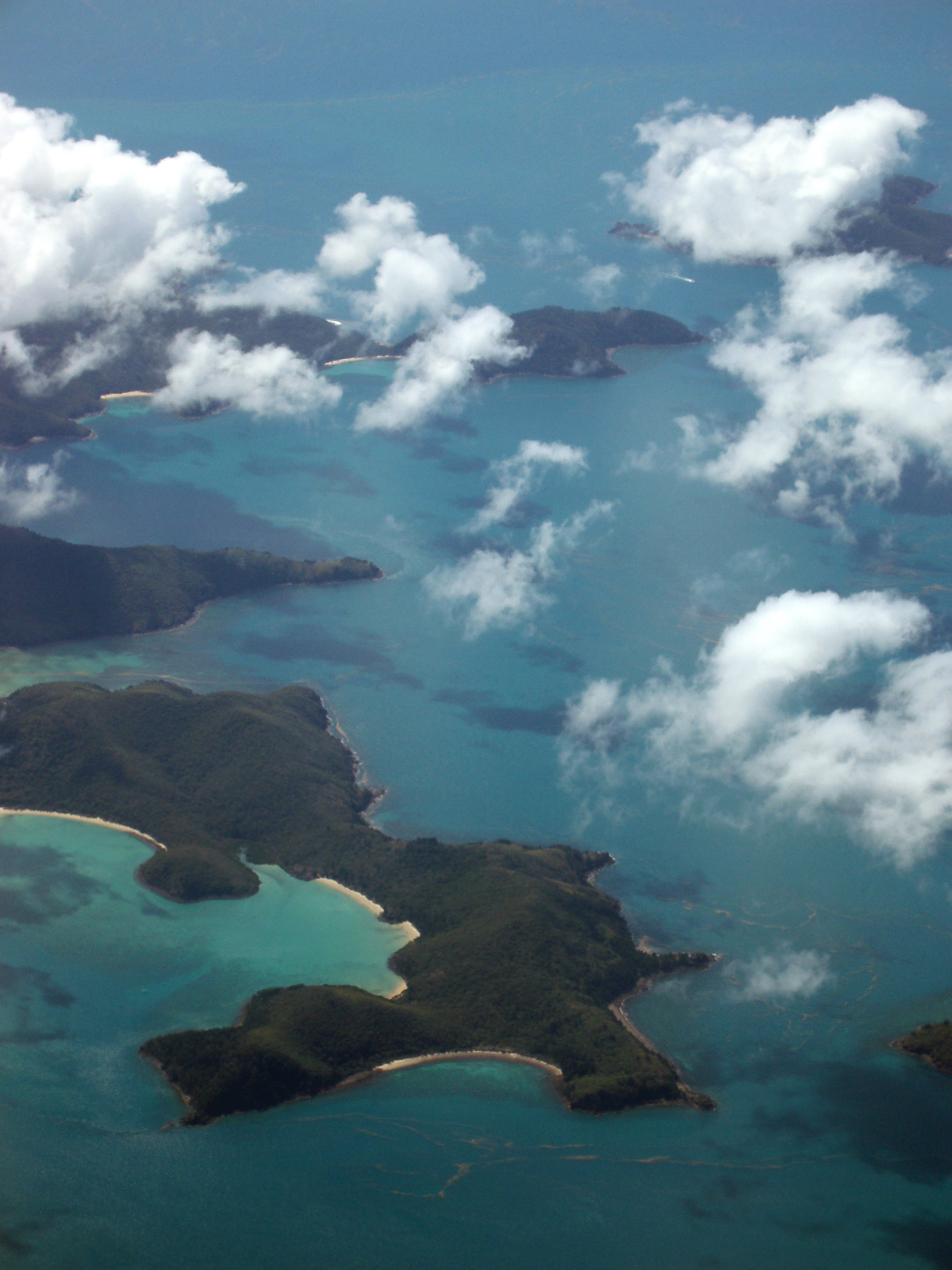 goldsmith island in the whitsundays, queensland,