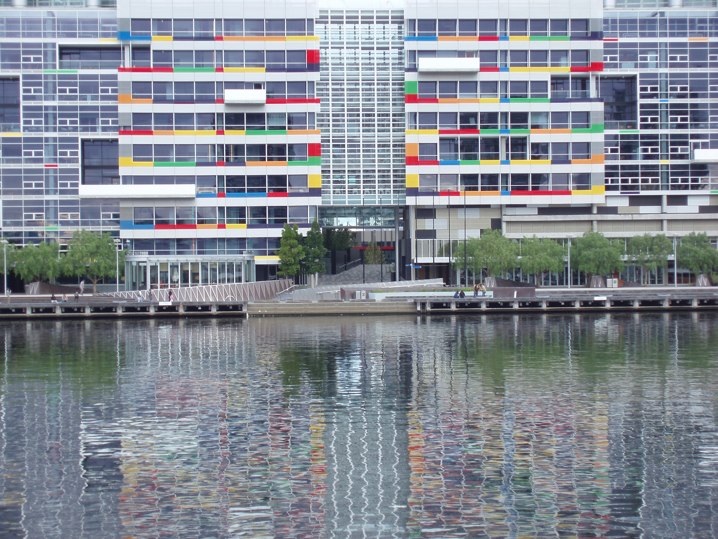 Photo Of Docklands Modern Buildings