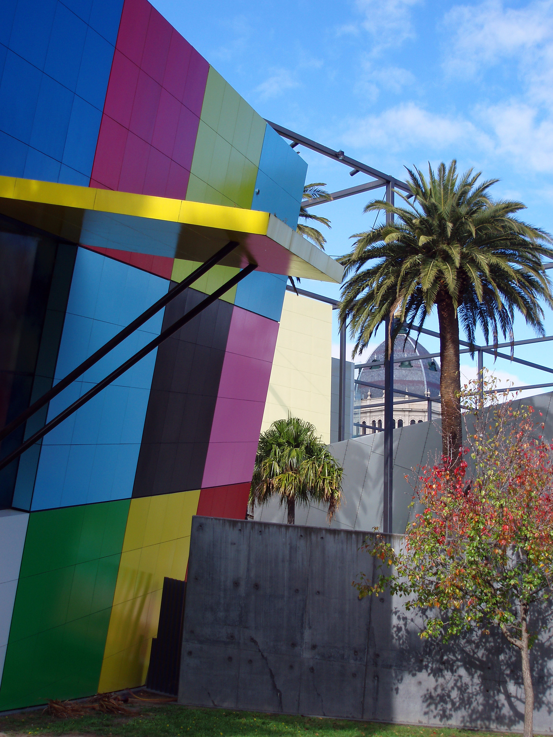 eye catching modern architecture, the childrens gallery of the melbourne museum