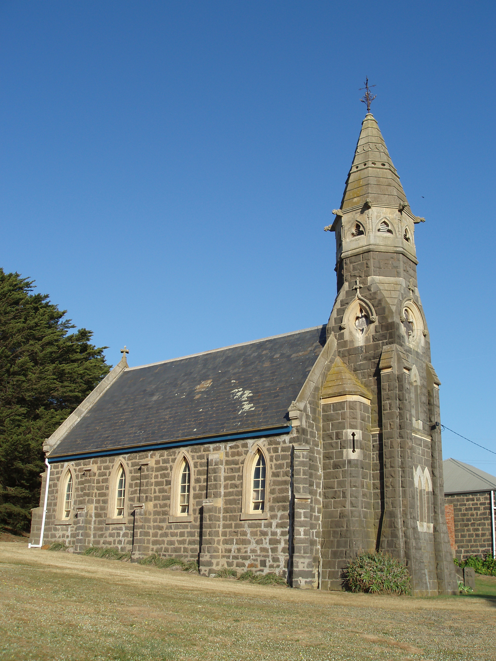 Small rural chruch, at wickliffe, victoria