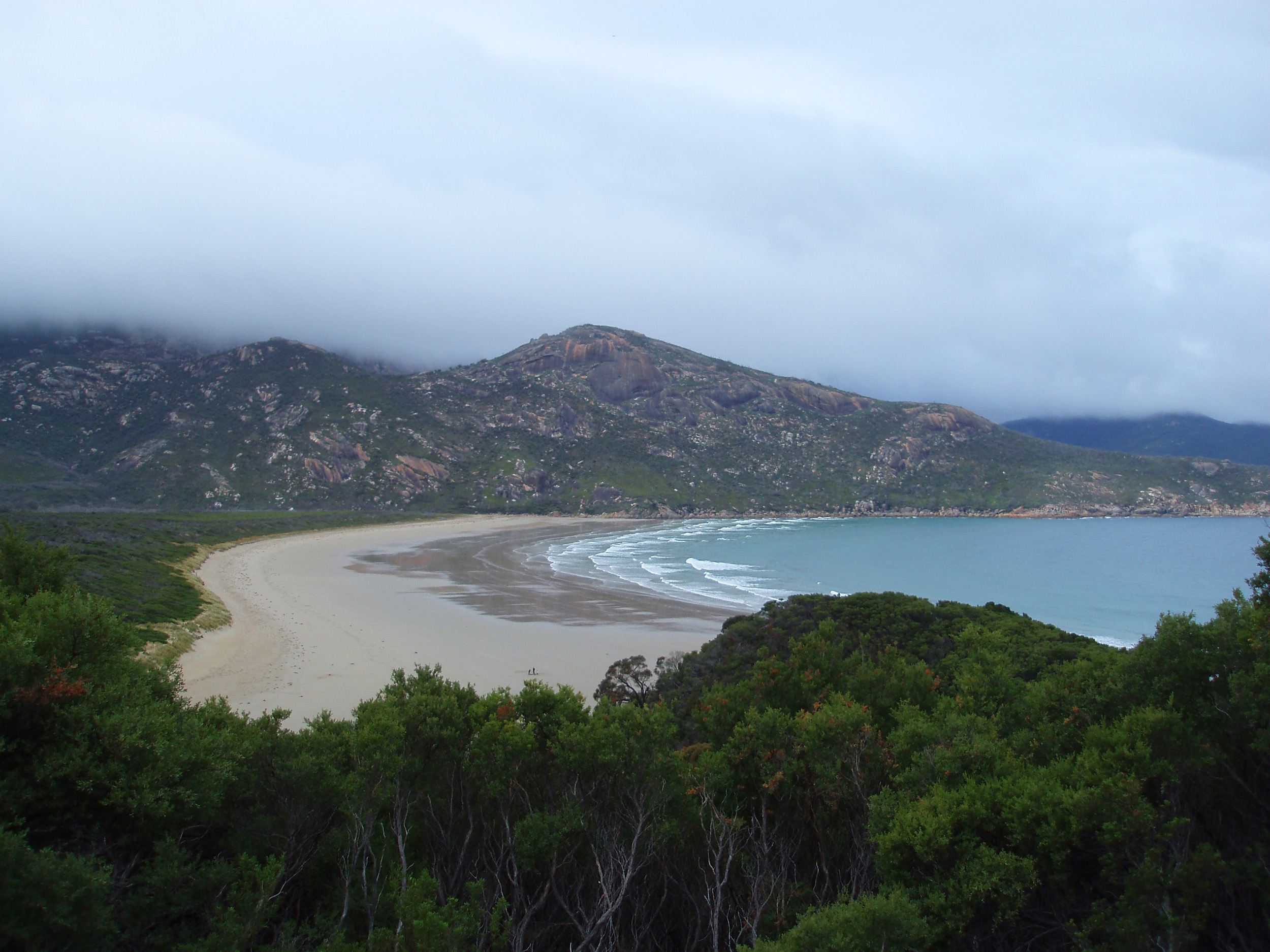 view of norman beach - norman bay, wilsons promontory
