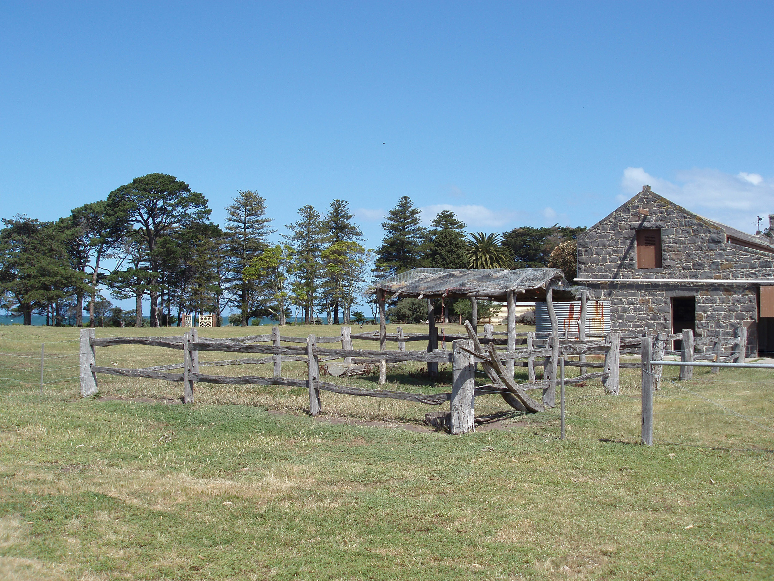 and old barn at the point cook homestead - not property released