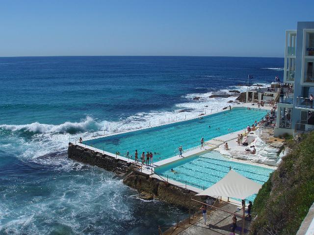 Photo Of Bondi Baths Free Australian Stock Images